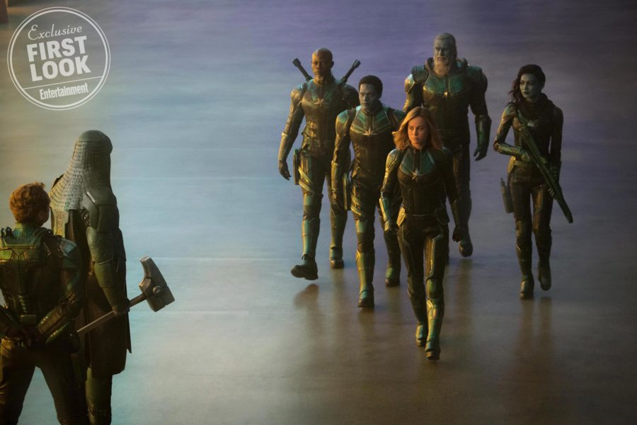 Кадры из фильма Капитан Марвел 3