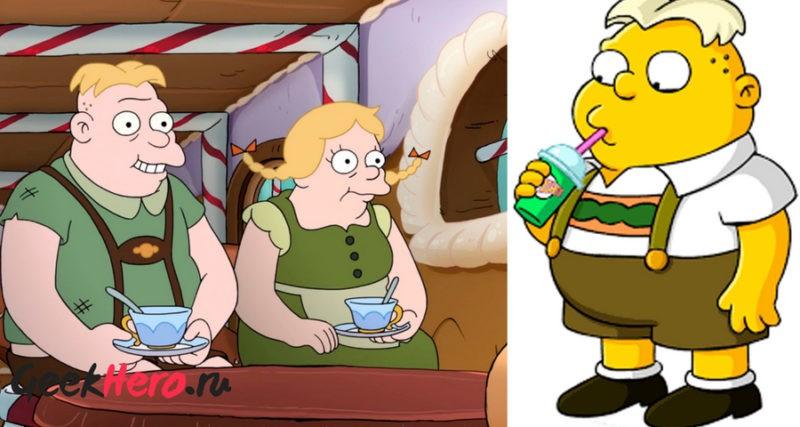 Симпсоны в мультфильме Разочарование