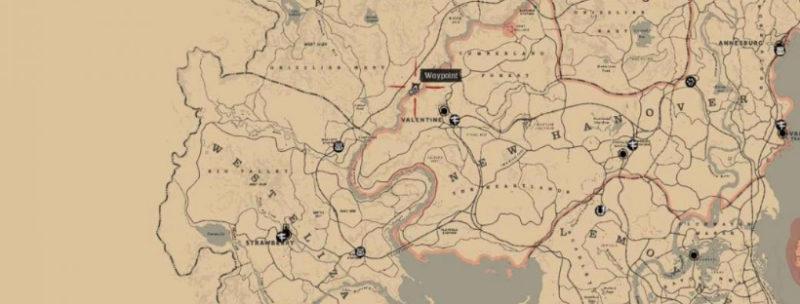 кости динозавров в Red Dead Redemption 28
