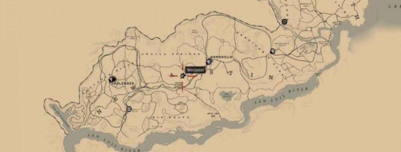 кости динозавров в Red Dead Redemption 40