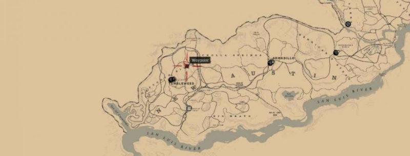 кости динозавров в Red Dead Redemption 43