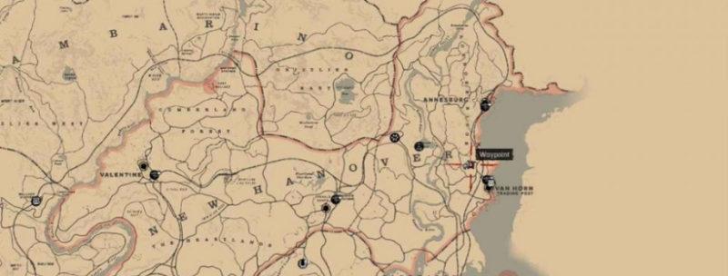 кости динозавров в Red Dead Redemption 15