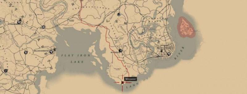 Все фермы с тайниками и сокровищами в Red Dead Redemption5