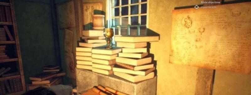 Код от сейфа в книжном магазине Call of Cthulhu2