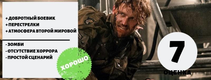 Оценка фильма 2018 Оверлорд