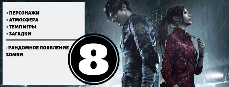 Обзор игры Resident Evil2 1