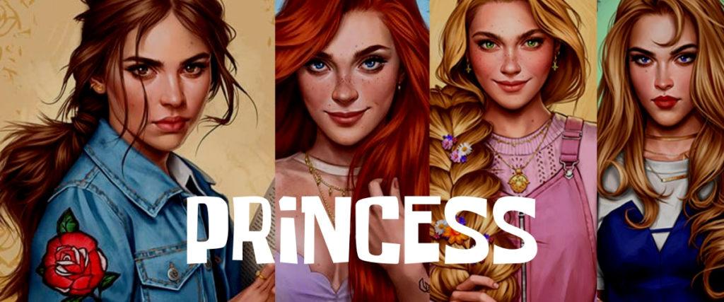 Персонажи принцессы