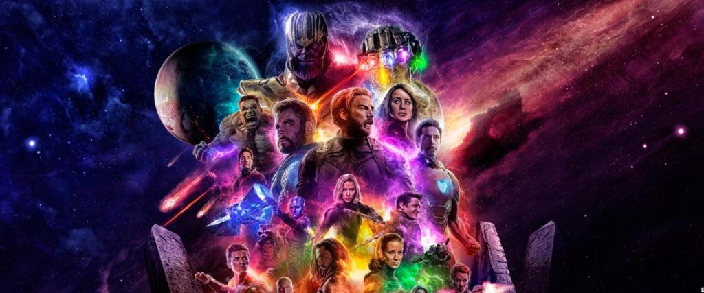 Постер Мстители Конец игры