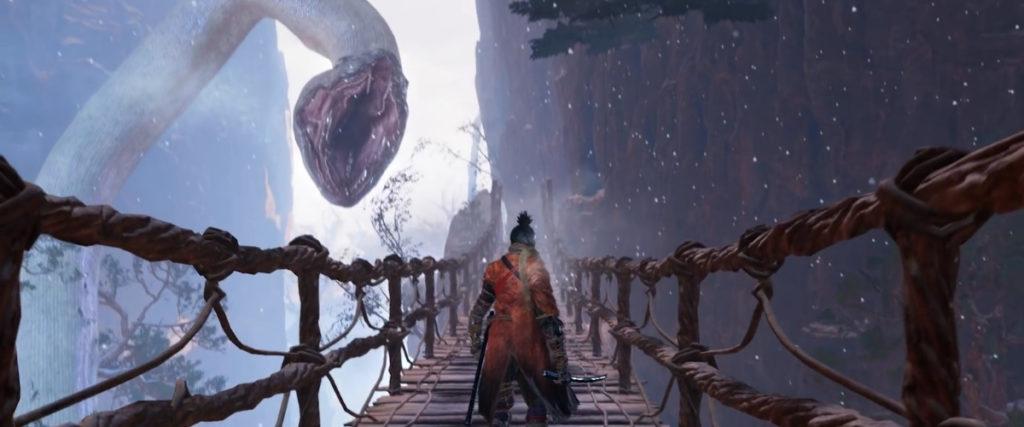 Как убить великого белого змея в Секиро
