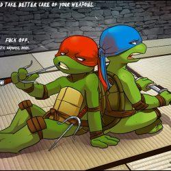Картинка Рафаэля и Лео