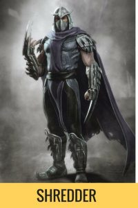 Shredder описание героя