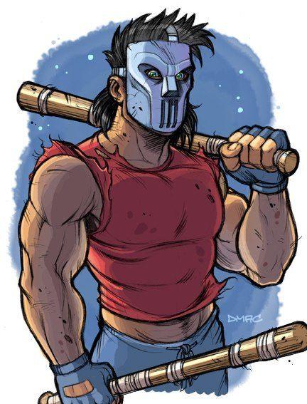 Кейси Джонс герой из черепашек ниндзя