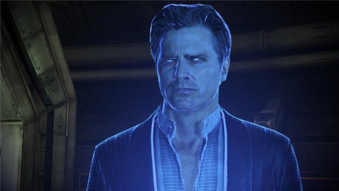 Призрак из игры Масс Эффект 7