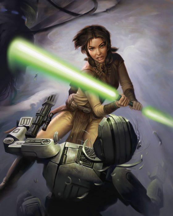 Бастила Шан из Звездных войн