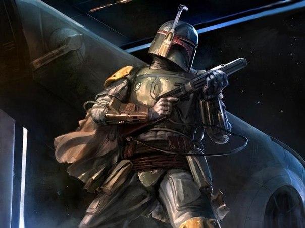 Джанго Фетт из звездных войн