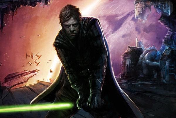 Люк Скайуокер из Звездных войн
