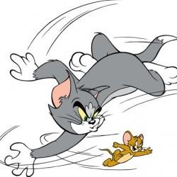 Кот Том из мультфильма