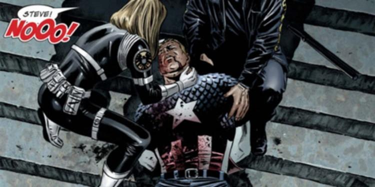 Капитан Америка комикс