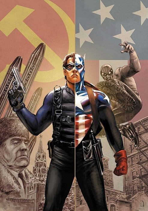 Зимний солдат Капитан Америка
