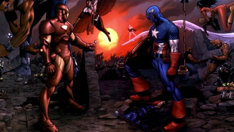 Капитан Америка Марвел