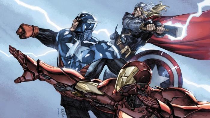 Железный человек команда Мстителей