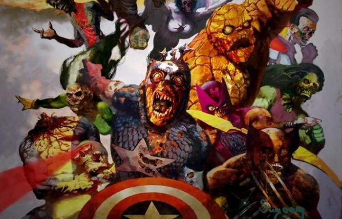 Марвел вселенная зомби