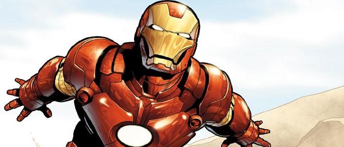 Железный человек комикс