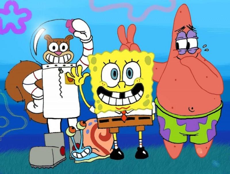 Губка Боб и друзья