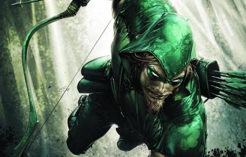 Зеленая стрела из клмиксов