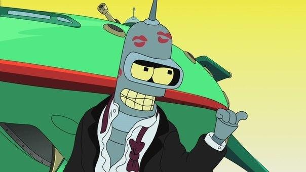 робот бендер, бендер футурама