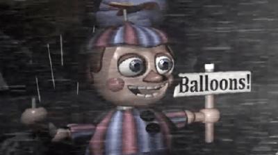 Мальчик с шарами из игры