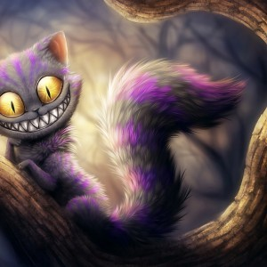 Чеширский кот арт