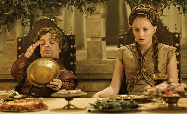 Игра престолов Тирион и Санса