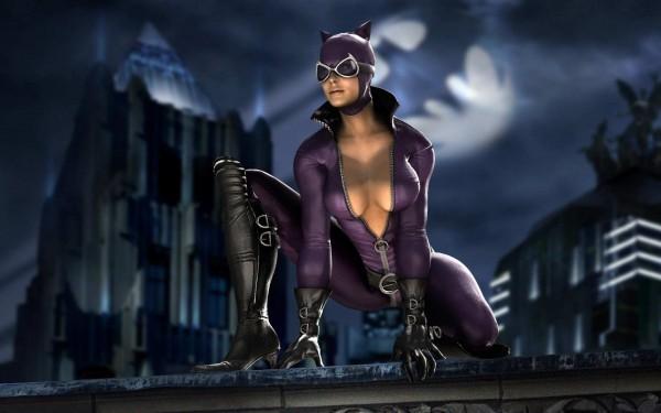 Женщина-кошка из комиксов