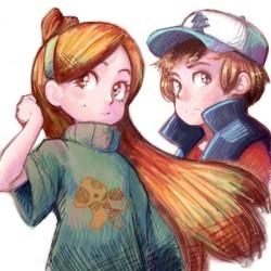 Диппер и Мэйбл