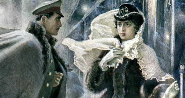 Анна Каренина из книги Толстого