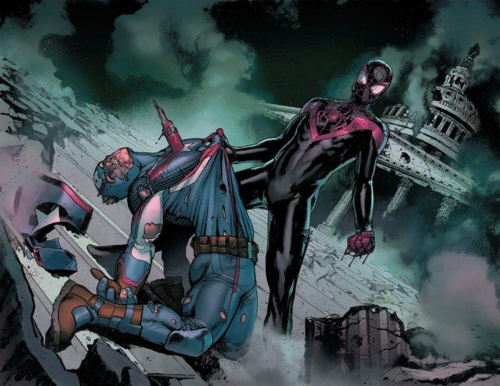 Человек паук убил капитана