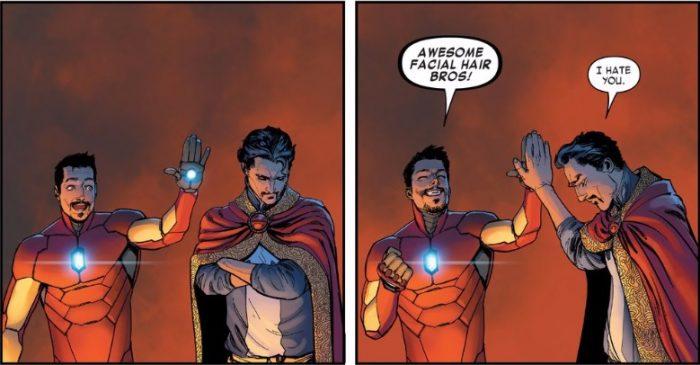 Доктор Стрэндж из комиксов Марвел