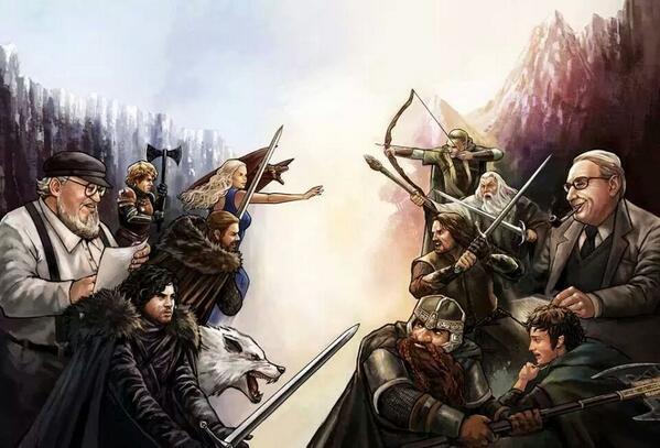 игра престолов против Средиземья