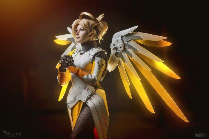 Ангел косплей