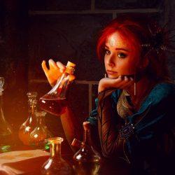 Косплей Трисс из Ведьмака
