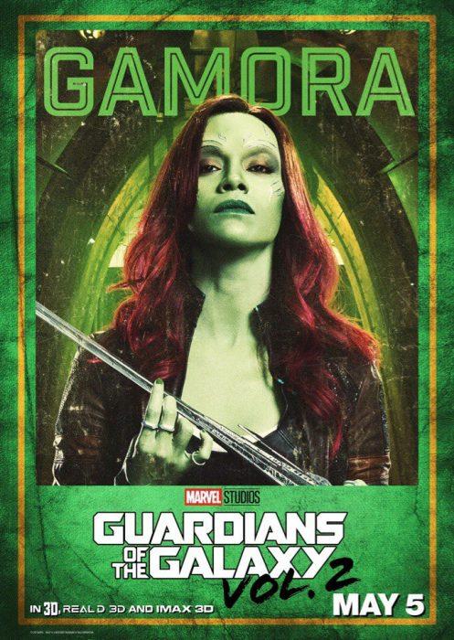Стражи галактики 2 постер
