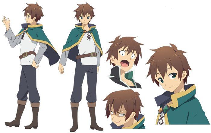 Сато Казума из аниме
