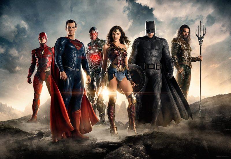 Постеры Лига Справедливости
