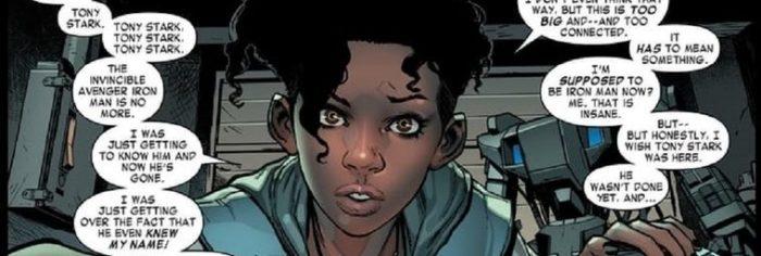 Рири Уильямс из комиксов Марвел