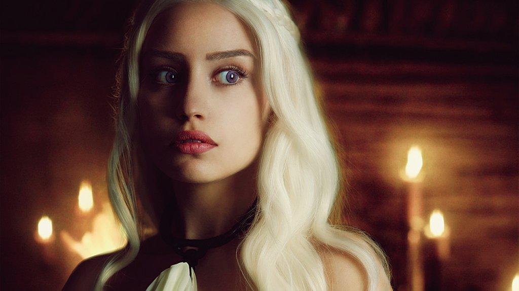 Косплей daenerys 3