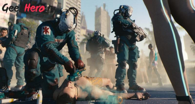 Геймплей Cyberpunk 2077