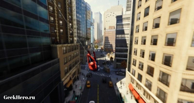 Город в игре Человек Паук
