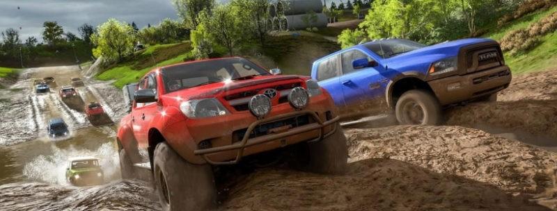 Геймплей Forza Horizon 4
