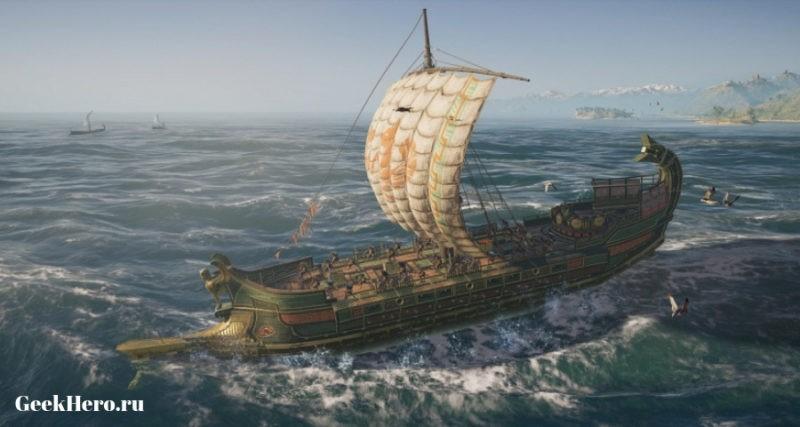 Обзор игры Ассасин Одиссея 2